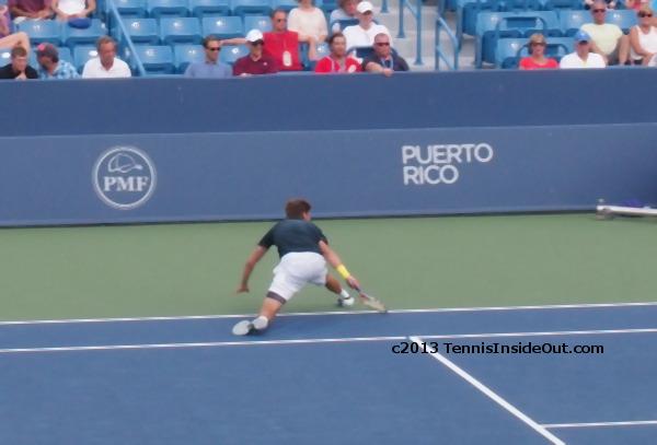 Ryan Harrison full stretch Ferrer match Cincinnati Open