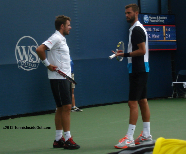 Stan Wawrinka Benoit Paire Wawaire doubles cuteness confab discussion