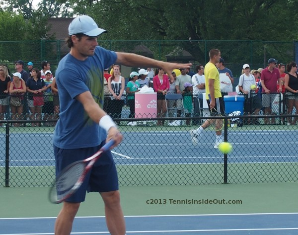 Western and Southern Open Tommy Haas forehand volley