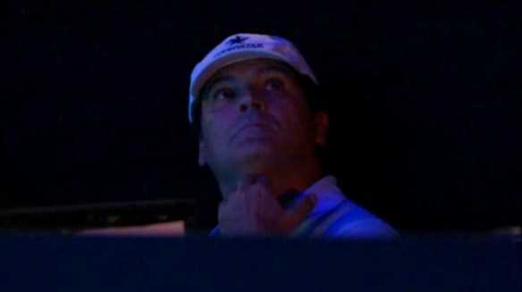 Uncle Toni Nadal Rafa coach hand signal World Tour Finals WTF Djokovic Rafa final 2013photos pics