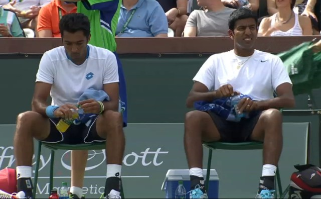 Bopanna Qureshi perplexed changeover doubles Fed Stan match IW 2014