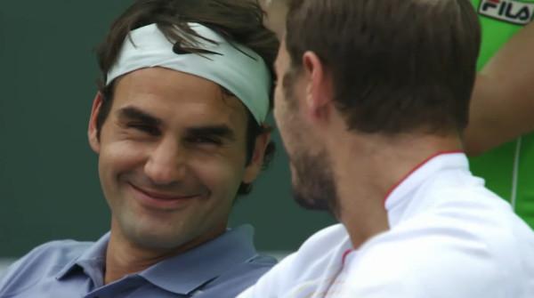 Federer Wawrinka Fedrinka bromance loving eyes smiles pictures photos screencaps
