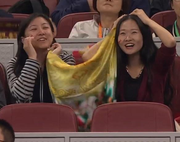 Thrilled Rafa fans