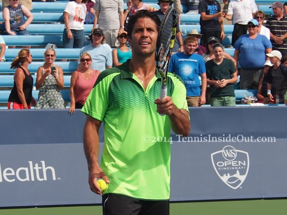Spanish tennis player Fernando Verdasco Cincinnati Masters