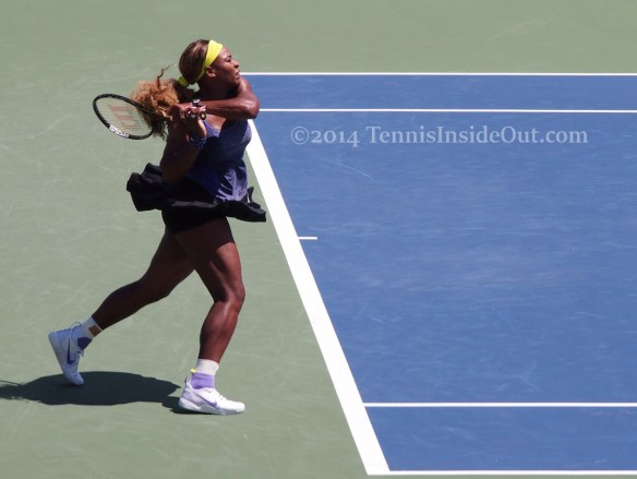 Backhand follow through Cincinnati Premier Serena Williams pics