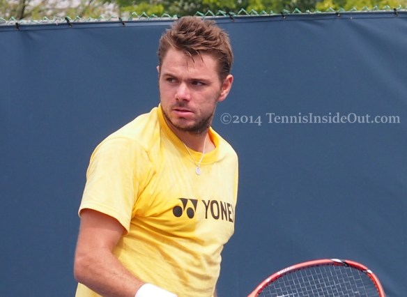 Stan Wawrinka sex look death stare fluffy hair