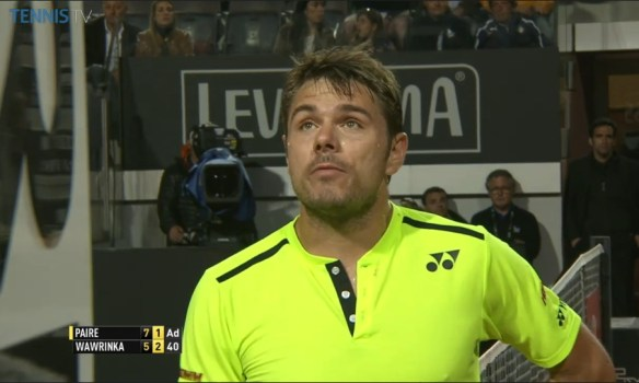 Stan Wawrinka cute face Rome