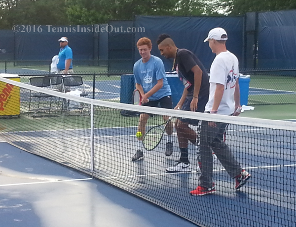 The Nick Kyrgios Impromptu Kids' Day and Posse Gathering ...