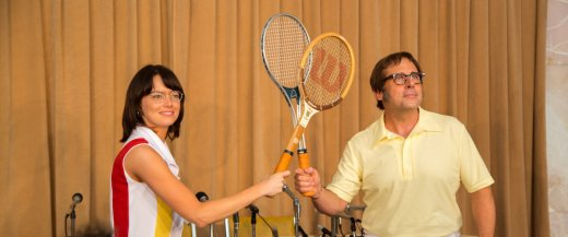 Battle of the Sexes starring Emma Stone and Steve Carell
