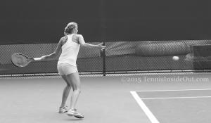 Kvitova forehand Cincinnati premier tennis Western and Southern Open