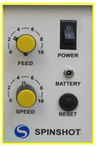 Spinshot Lite control panel