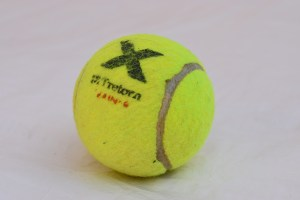 Tretorn X Micro Pressureless tennis ball