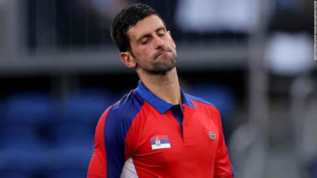Novak Djokovic Pablo Carreno Busta Tokyo 2020 Olympics
