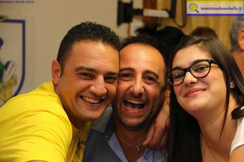 Al centro Cristiano Corrias con Doni Carrucciu e Max Mondello (Foto Gianluca Piu)