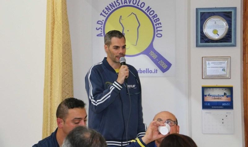 Il presidente Simone Carrucciu (Foto Gianluca Piu)