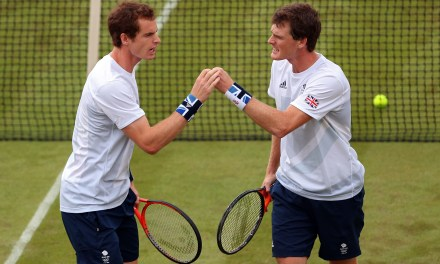 Murray looks relaxed and ready again and again