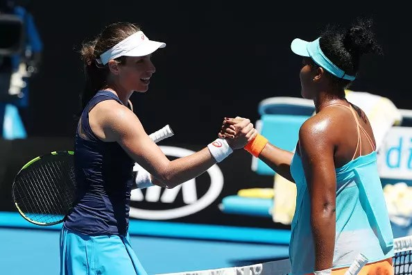 Konta maintains her momentum