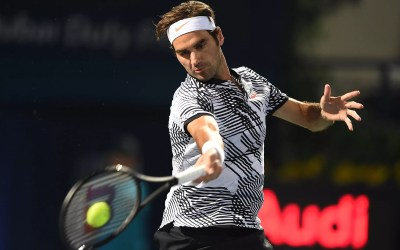 Federer goes for his eighth Dubai crown