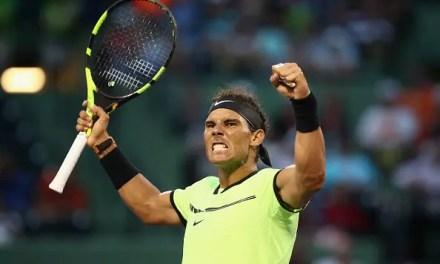 Nadal reaches 1000