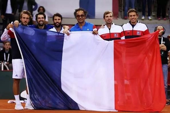 French celebrate