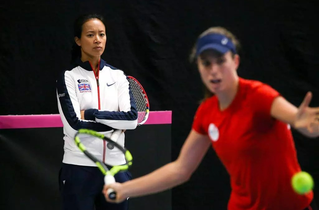 Konta 'happy to come through for the team'