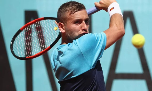 Dan Evans says Aljaz Bedene is 'not British' after Madrid Open loss