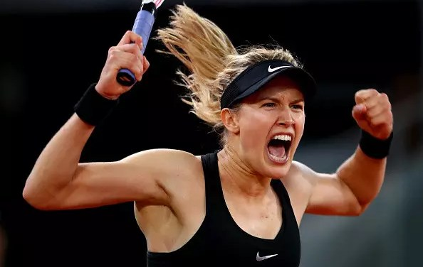 Eugenie Bouchard sees off Maria Sharapova in marathon three-setter