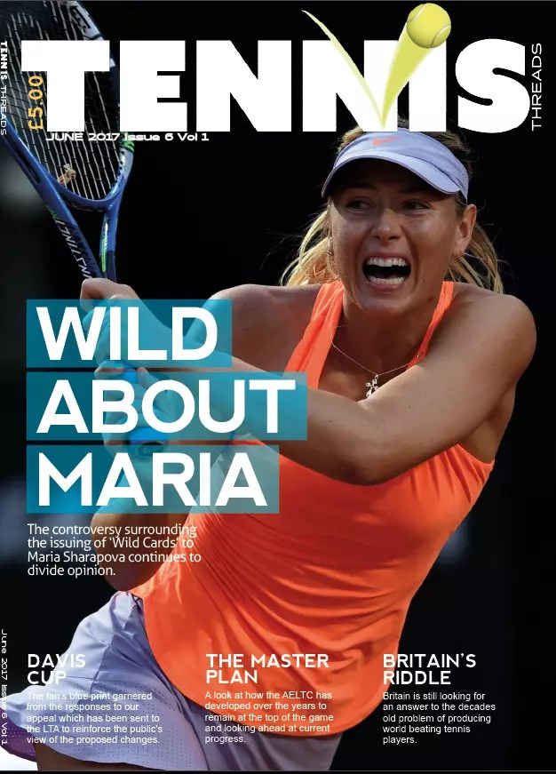 Magazine | The June edition of Tennis Threads has arrived