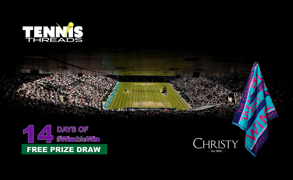 Win with #WimbleWin Day 11 | Christy Ladies Championship Towel