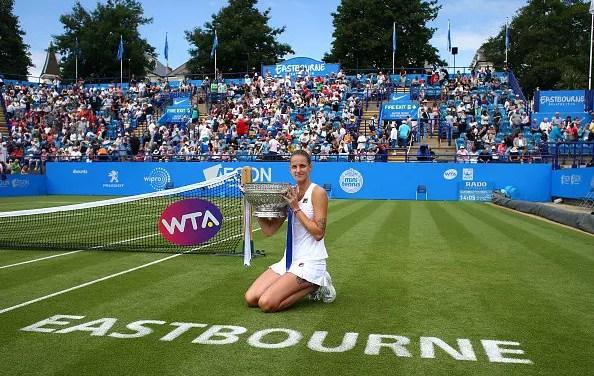 Eastbourne   Pliskova underlines her Wimbledon potential