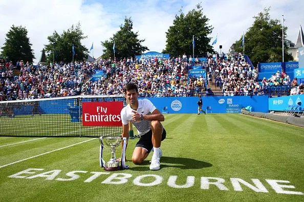 Eastbourne   Djokovic successfully completes his refresher