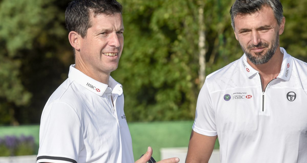 Wimbledon Day 4   Henman not happy with the inconsistency
