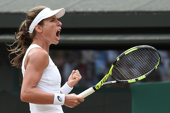 Wimbledon Day 7   Konta remains level-headed