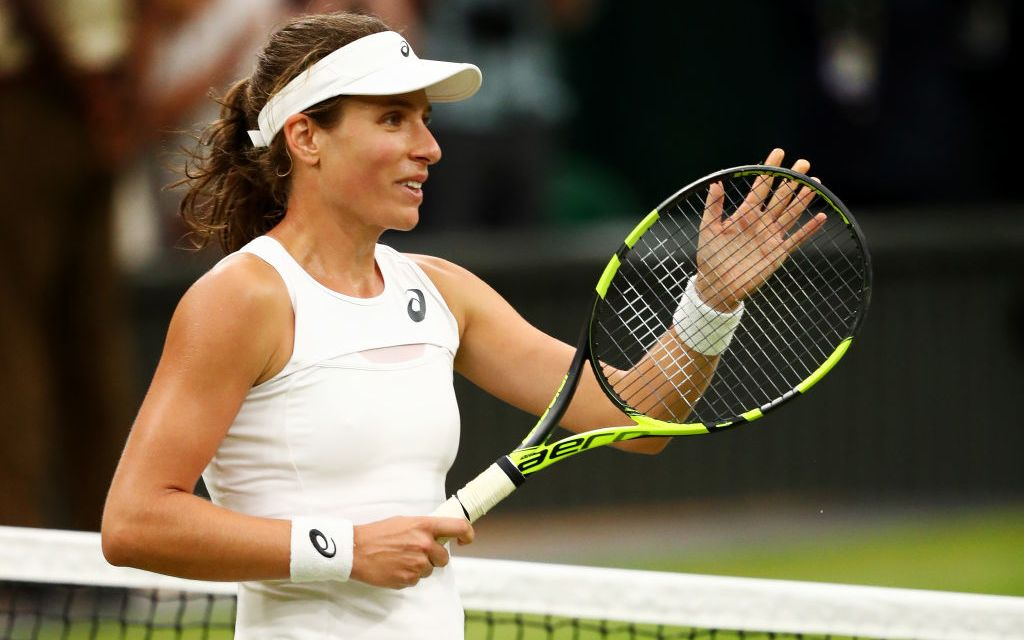Wimbledon Day 8   Konta makes history
