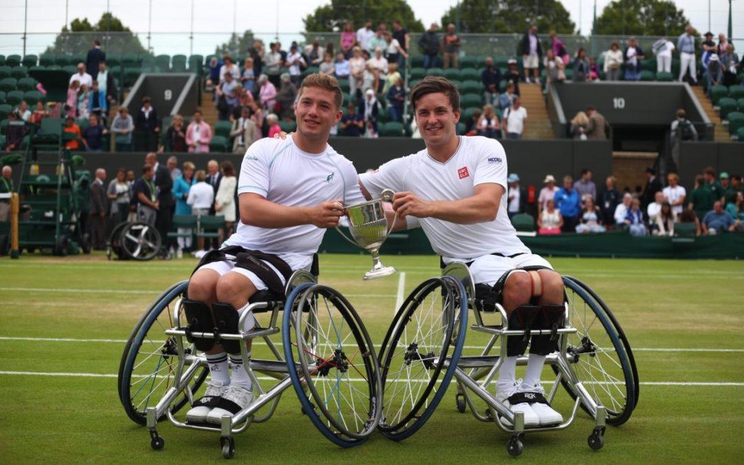 Wimbledon Day 12 | Brits Hewett and Reid retain Wimbledon tennis doubles title