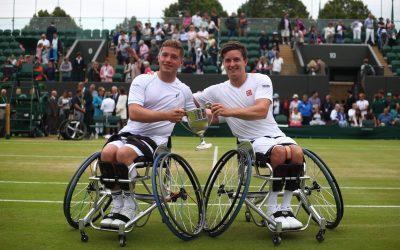 Wimbledon Day 12   Brits Hewett and Reid retain Wimbledon tennis doubles title