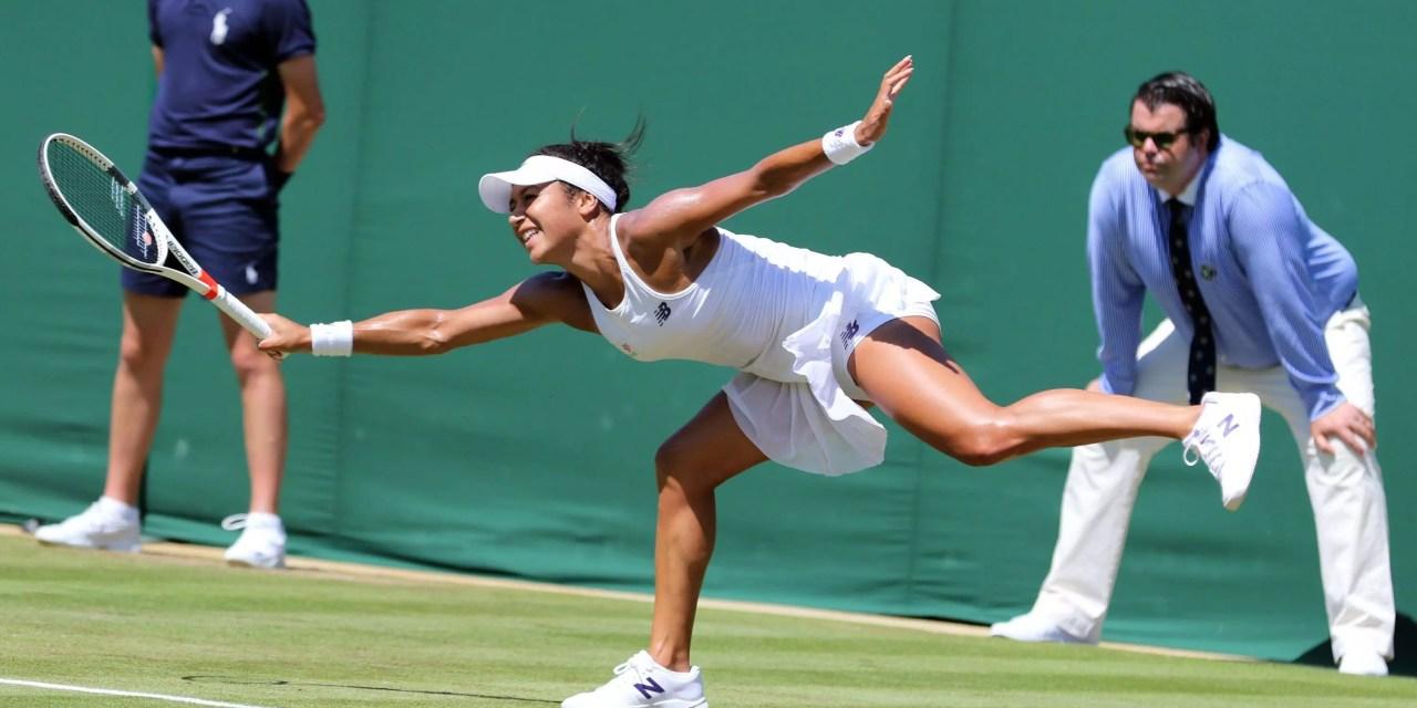 Wimbledon Day 3   Watson sweeps into third round