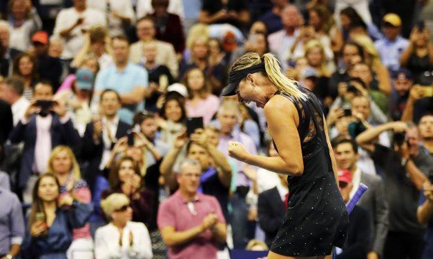 US Open Day 1 | Sharapova shocks Halep