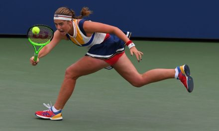 US Open Day 2   Ostapenko ousts Arruabarrena under the roof