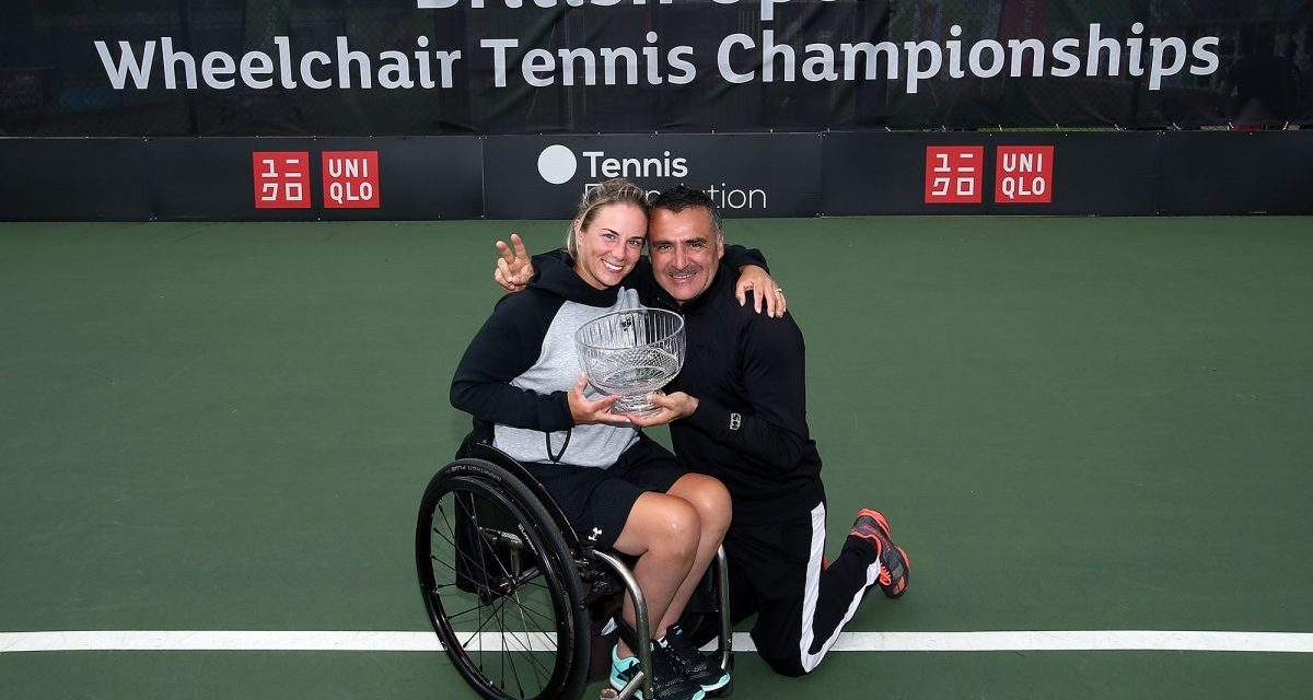 Nottingham | Lucy Shuker wins British Open Mixed Doubles title