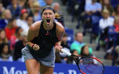 US Open Day 7   Kvitova stuns Muguruza