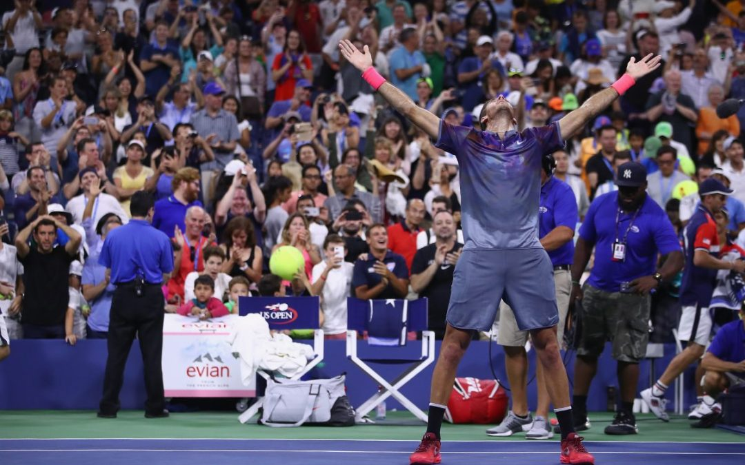 US Open Day 8   DelPo survives epic to face Roger