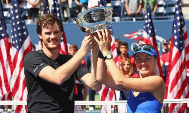 US Open Day 13   Murray and Hingis US Open Mixed Doubles Champions