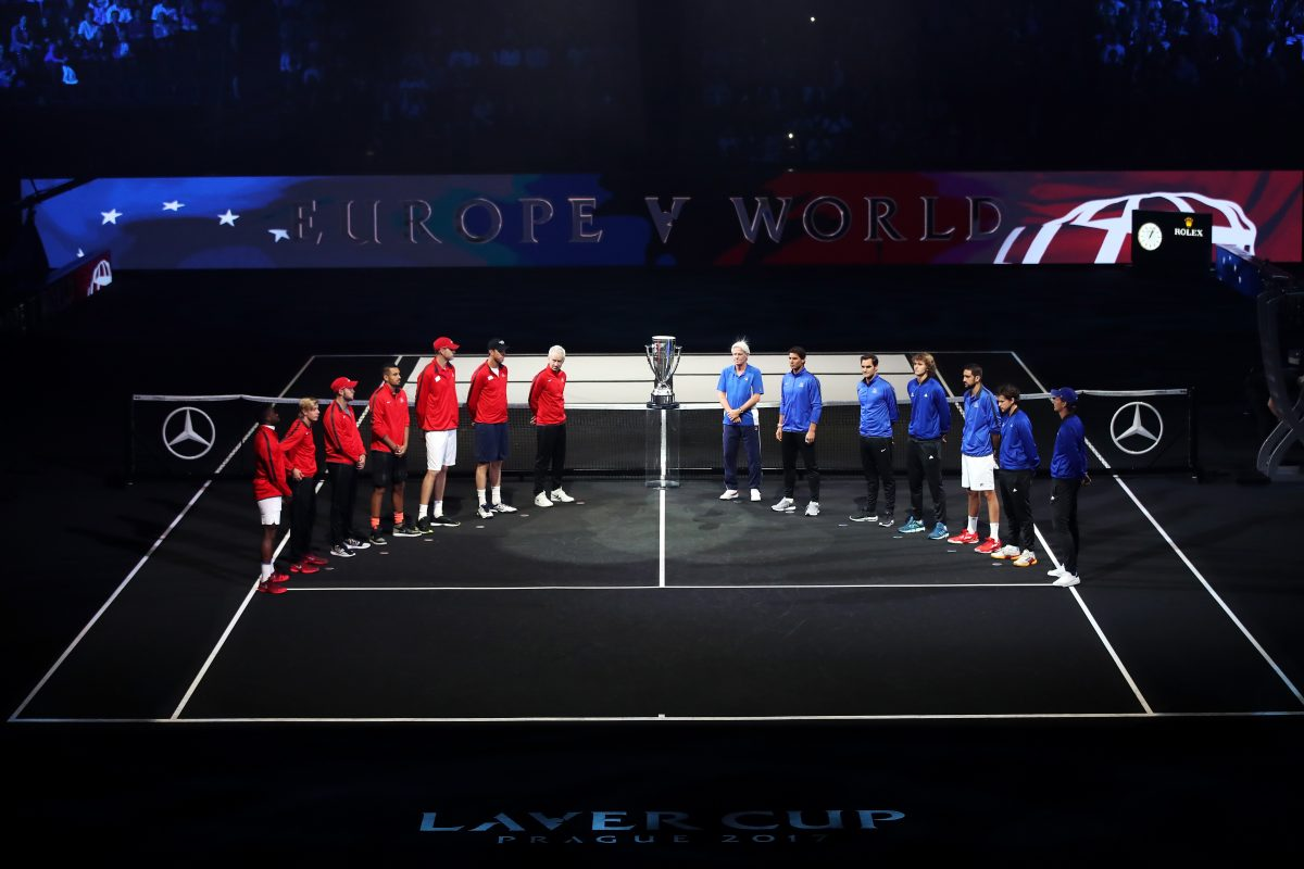 Laver Cup    Controversial competition opens in Prague