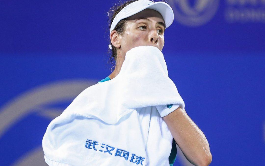 China Wuhan Open   Konta's poor run continues