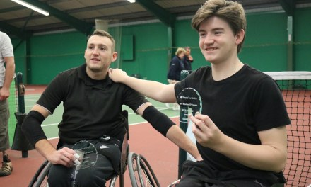 Wrexham     Logan and Smith lift the doubles title in Wales