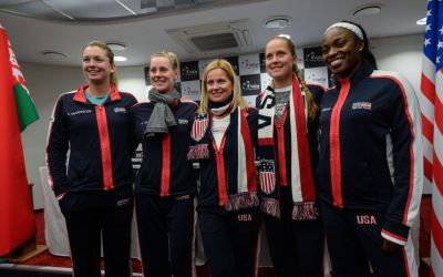 Minsk   USA favourites for Fed Cup title