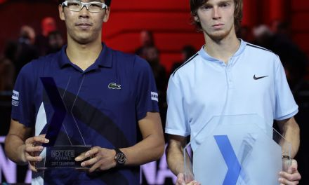 Milan | Chung pushes Rublev into meltdown
