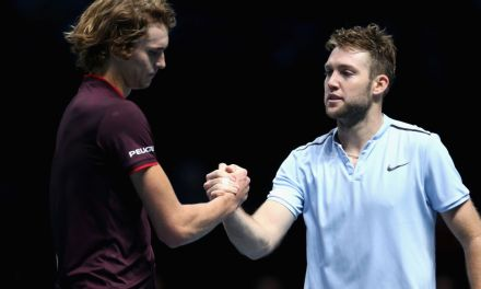 London | Sock shocks Zverev