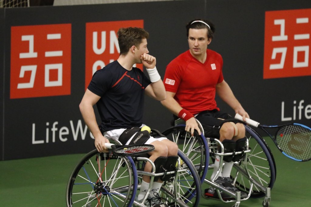 UNIQLO Doubles Masters | Reid and Hewett through to the final